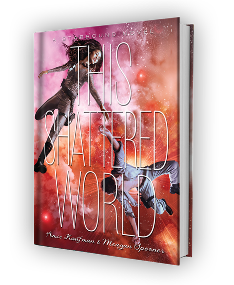 Cover for THIS SHATTERED WORLD by Amie Kaufman and Meagan Spooner